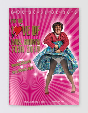 Mrs Brown's Boys 2018 Souvenir Program