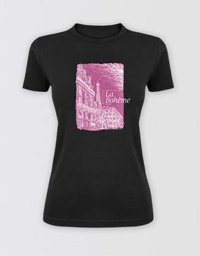 HOSH - La Bohème Fitted Logo T-Shirt