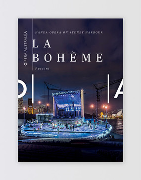 HOSH - La Bohème Souvenir Program