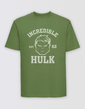 Marvel's Avengers - Adults Hulk Est 62 T-Shirt