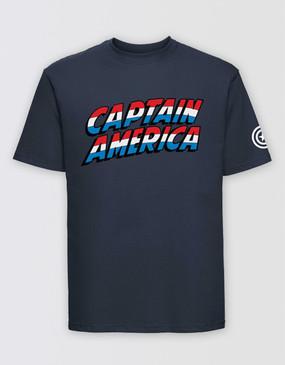 Marvel's Avengers - Adults Captain America Logo T-Shirt