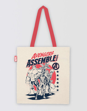 Marvel's Avengers - Avengers Assemble Retro Tote Bag