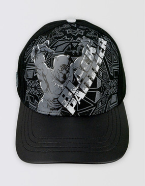 Marvel's Avengers - Black Panther Black/Grey Cap