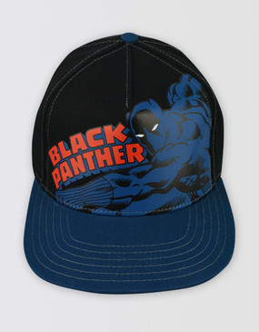 Marvel's Avengers - Black Panther Black/Blue Cap