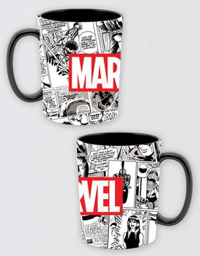 Marvel's Avengers - Marvel Red Brick Logo Mug