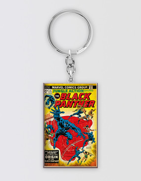 Marvel's Avengers - Black Panther Rectangular Keyring