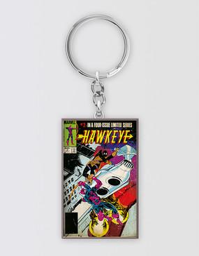 Marvel's Avengers - Hawkeye Rectangular Keyring