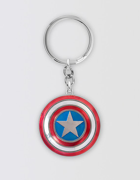 Marvel's Avengers - Captain America Shield 3D Keyring