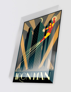 Marvel's Avengers - Iron Man Art Deco Magnet