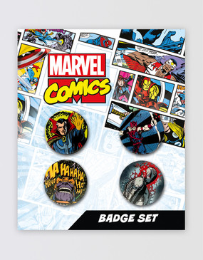 Marvel's Avengers - Button Badge Set A