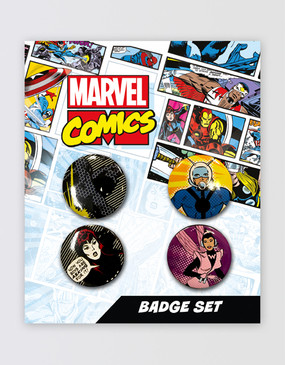 Marvel's Avengers - Button Badge Set B