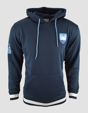 Sydney FC Mens Classic Exclusive Navy Hoody