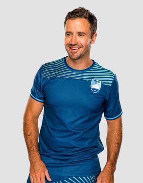 Sydney FC 18/19 Youths Geo Squad Training Tee