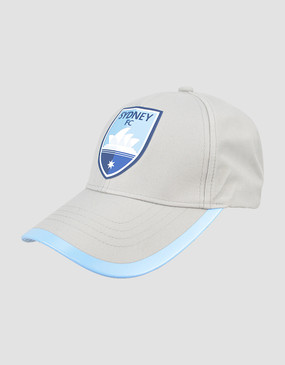 Sydney FC 18/19 Classic Club Training Cap Grey