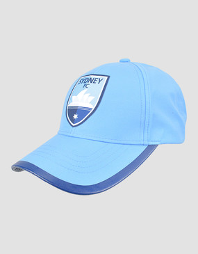 Sydney FC 18/19 Classic Club Training Cap Sky Blue