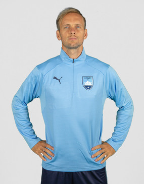 Sydney FC 18/19 Adults Club 1/4 Zip Training Top