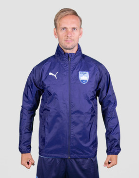Sydney FC 18/19 Adults Club Rain Jacket