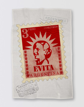 Evita Tea Towel