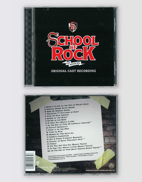 School of Rock the Musical Original Cast Recording CD