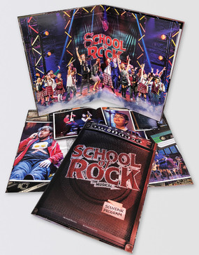 SCHOOL OF ROCK Souvenir Program
