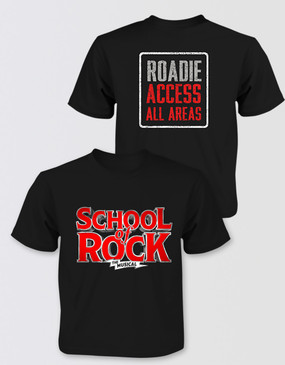 "SCHOOL OF ROCK Kids Logo ""Roadie Access"" T-Shirt"