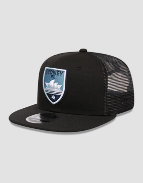 Sydney FC 18/19 New Era 9FIFTY Black Trucker Cap