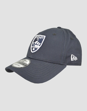 Sydney FC New Era 9FORTY Navy Cap with White Logo