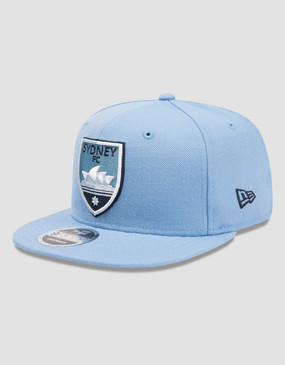 Sydney FC 18/19 New Era 9FIFTY Core Sky Blue Cap