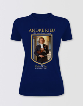 André Rieu Fitted Australian Tour T-Shirt