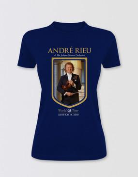 André Rieu Fitted Australian Tour T-Shirt
