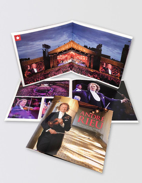 André Rieu Souvenir Program