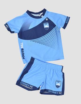 Sydney FC 18/19 Infants Training Tee & Shorts Set