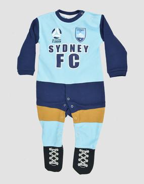 Sydney FC 18/19 Babies Long Footysuit
