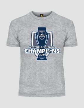 Sydney FC 18/19 Womens W-League Champions Tee