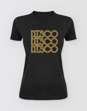 Saturday Night Fever Fitted Disco T-Shirt