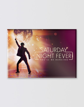 Saturday Night Fever Magnet
