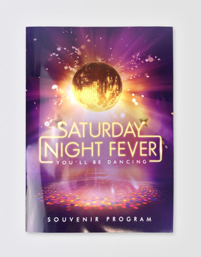 Saturday Night Fever Souvenir Program