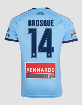 Sydney FC 18/19 Adults Home Jersey - BROSQUE 14