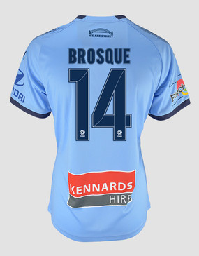 Sydney FC 18/19 Womens A-League Home Jersey - BROSQUE 14