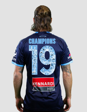 33515ed96 Sydney FC 18 19 Adults Alternate Jersey - CHAMPIONS 19