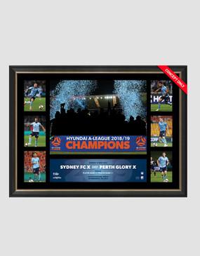 Sydney FC 18/19 Champions Tribute Frame