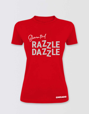 Chicago Fitted 'Razzle Dazzle' T-Shirt