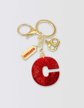 Chicago Charm Keyring