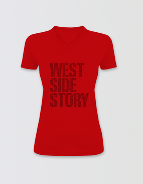 West Side Story Fitted V-Neck T-Shirt