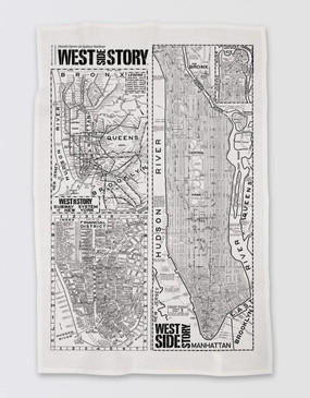 West Side Story Tea Towel