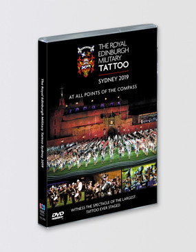The Royal Edinburgh Military Tattoo 'Live From Sydney' 2019 DVD