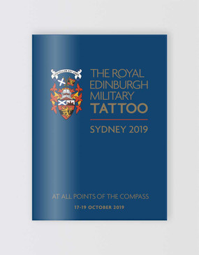 The Royal Edinburgh Military Tattoo Souvenir Program - Sydney 2019