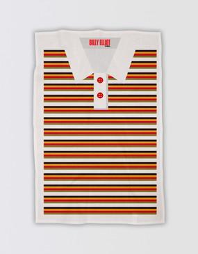Billy Elliot Tea Towel - Striped Polo