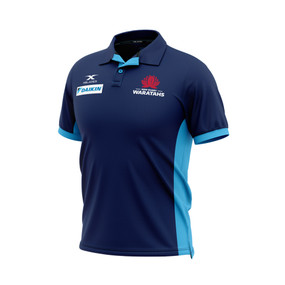 NSW Waratahs 2020 Mens Media Polo