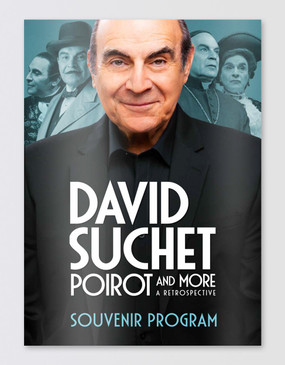 David Suchet Souvenir Program